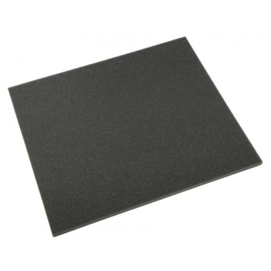 Mousse de filtre à air Noire ép 10 mm