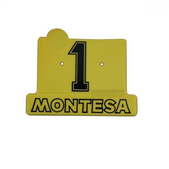 Plaque numéro Montesa