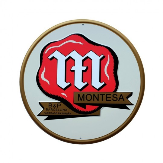 "Plaque Montesa""W Champion"""