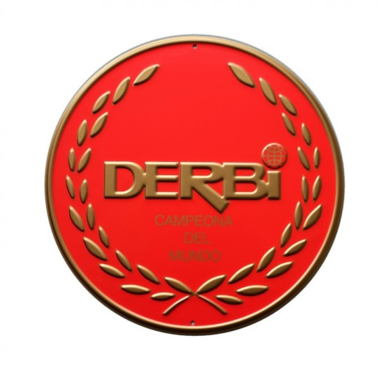 derbi-decorative-plate