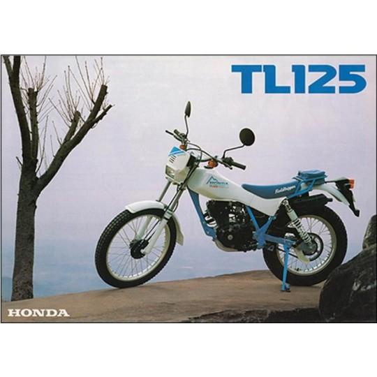 Honda TL 125, visserie moteur