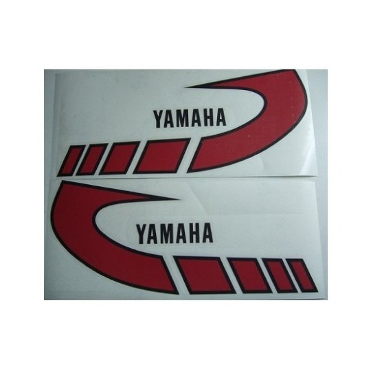 Yamaha TY, logo de réservoir