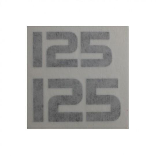 Yamaha TY, logos latéraux